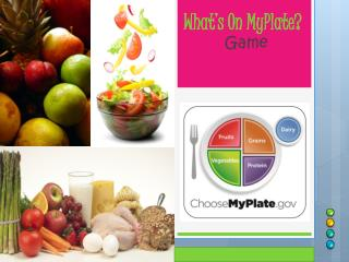 What's On  MyPlate ?