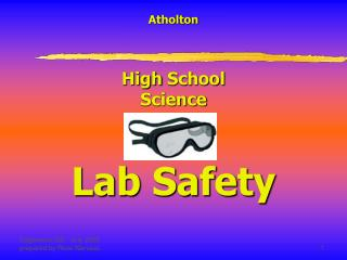 Atholton High  School Science