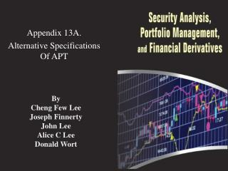 Appendix  13A .  Alternative Specifications Of APT