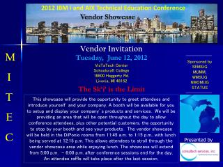 2012 IBM i and AIX Technical  Education Conference