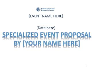 [EVENT NAME HERE] [Date here}