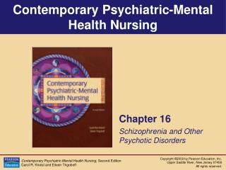 Chapter 16 Schizophrenia and Other Psychotic Disorders