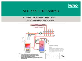 Controls and Variable Speed Drives Or the Great Delta PT  vs  Delta PV Debate