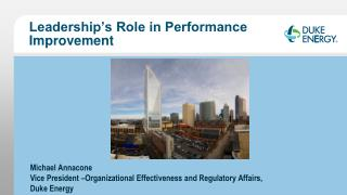 Leadership's  Role in Performance Improvement