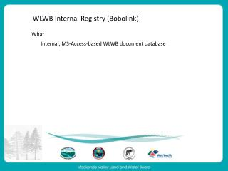 WLWB Internal Registry (Bobolink)