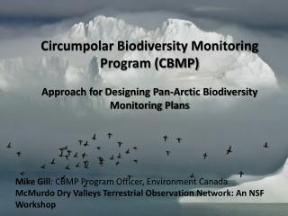 Circumpolar Biodiversity Monitoring Program (CBMP)