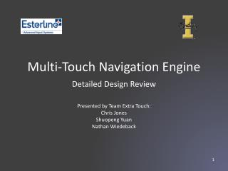 Multi-Touch Navigation  Engine
