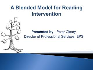 A  Blended  Model for Reading Intervention