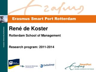 Erasmus Smart Port Rotterdam