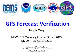 GFS Forecast Verification