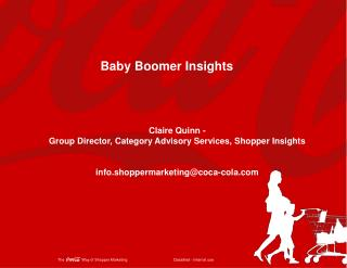 Baby Boomer Insights