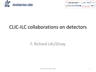 CLIC-ILC collaborations on detectors