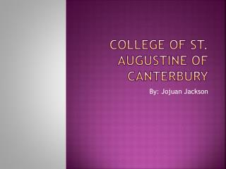 College of St. Augustine of Canterbury