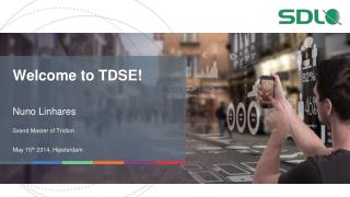 Welcome to TDSE!