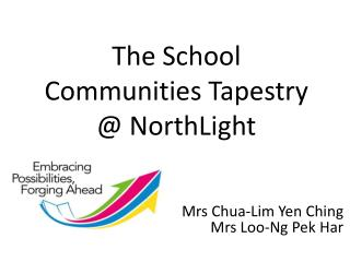 The School  Communities Tapestry  @  NorthLight