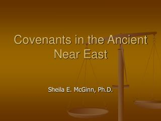 Covenants in the Ancient Near East