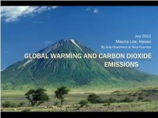 Global Warming and Carbon Dioxide Emissions
