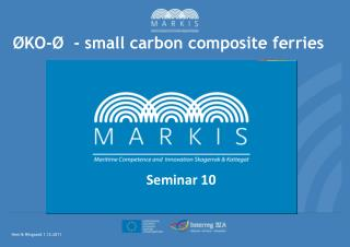 ØKO-Ø - small carbon composite ferries