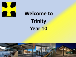 Welcome to Trinity Year 10