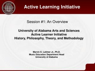 Session #1: An Overview