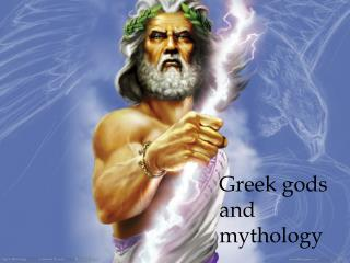Greek gods and mythology