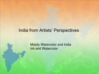 India from Artists' Perspectives
