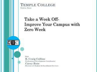Temple College Temple, Texas