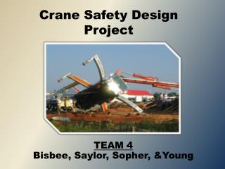 Crane Safety Design Project