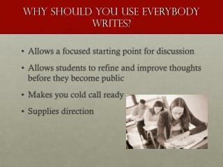 Why should you use Everybody Writes?