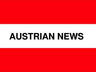 AUSTRIAN NEWS