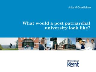 What would a post patriarchal university look like?