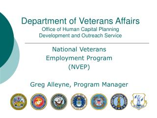 Department of Veterans Affairs Office of Human Capital Planning  Development and Outreach Service