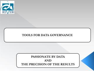 TOOLS FOR DATA GOVERNANCE