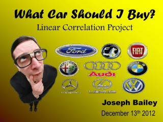 What Car Should I Buy? Linear Correlation Project