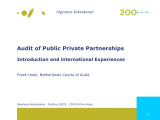 Public Private Partnerships (PPP): Definition