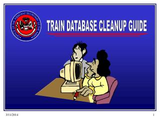 TRAIN DATABASE CLEANUP GUIDE
