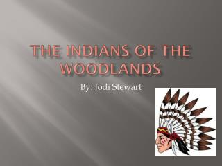 The Indians of the Woodlands