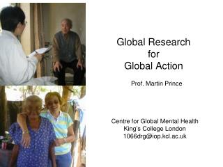 Global Research  for  Global Action