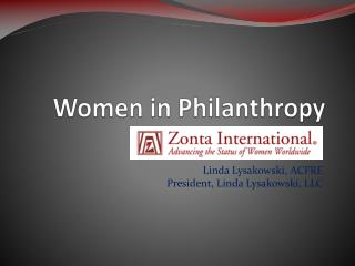 Women in Philanthropy
