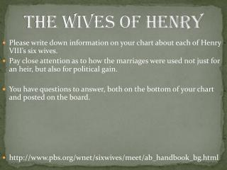 The Wives of Henry