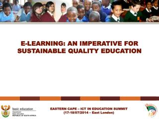 E-LEARNING: AN IMPERATIVE FOR SUSTAINABLE QUALITY EDUCATION