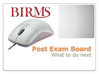 Post Exam Board
