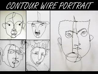 CONTOUR WIRE PORTRAIT