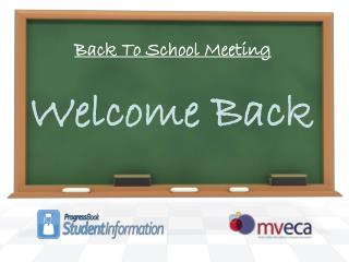 Back To School Meeting