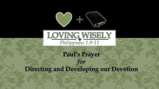 Loving Wisely