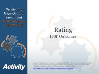 Rating IFSP Outcomes