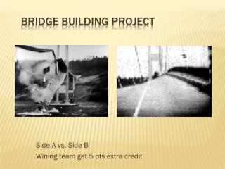Bridge Building Project