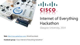 Internet of Everything  Hackathon