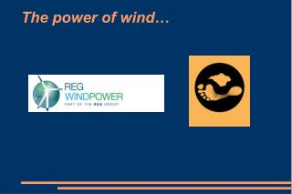 The power of wind…