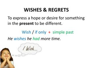 WISHES & REGRETS